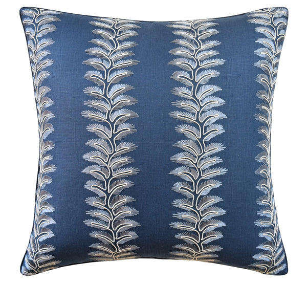 Bradbourne Pillow, Indigo
