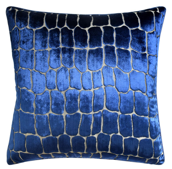 Croc Pillow,  Indigo