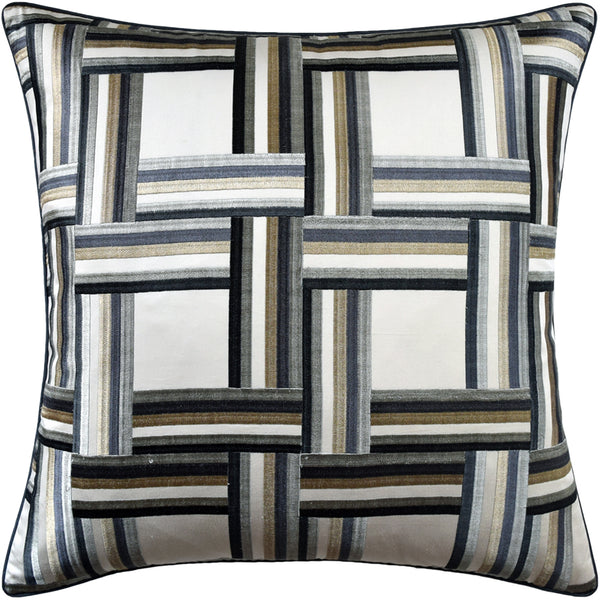 Front Row Pillow, Steel