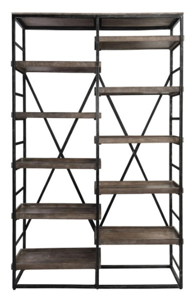 Bookcase - Evan Double Bookcase