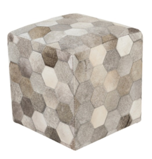 Pouf - Trail Hex Hide
