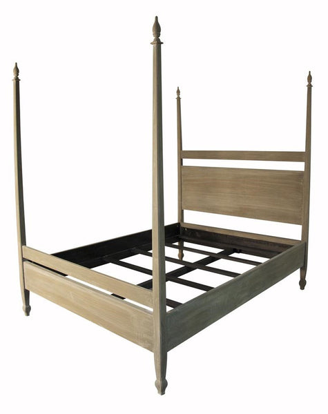 Venice Bed, Weathered Queen