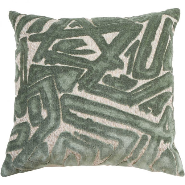 Abstract Pillow, Mist