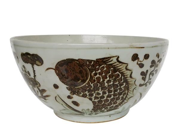 Bowl - Brown Fish