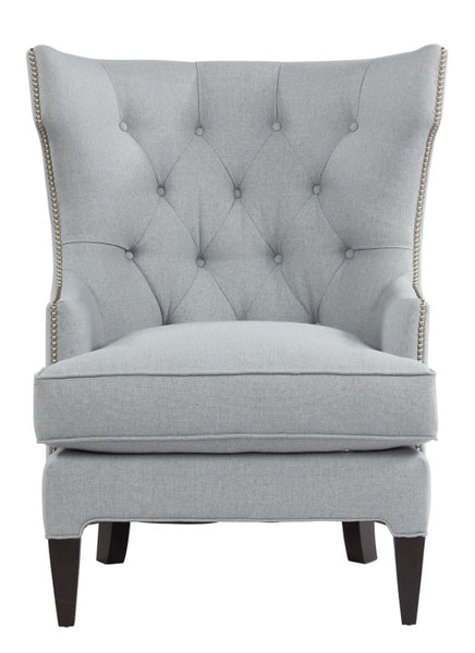 "Hatton Tufted Wing Chair, 34""W - Grade (1)"