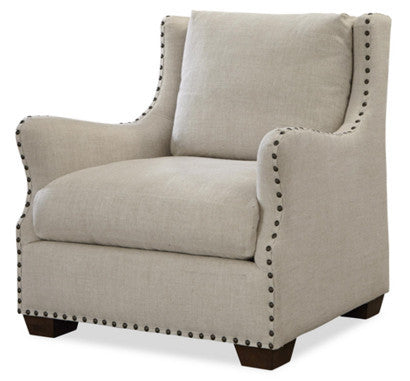 Connor Chair, Belgian Linen