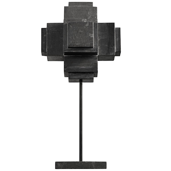Sculpture - Cube on Stand