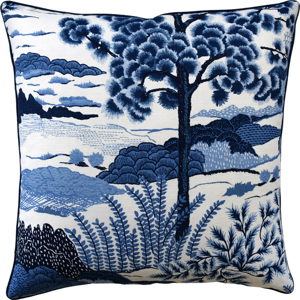 Daintree Pillow, Blue