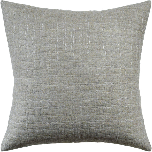 Epping Quilt Pillow, Beige