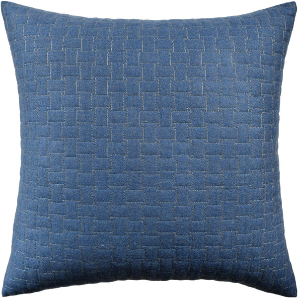 Epping Quilt Pillow, Blue