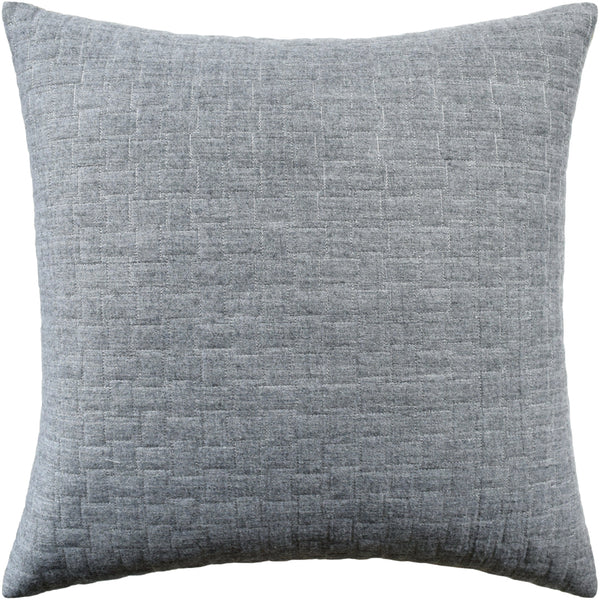 Epping Quilt Pillow, Grey