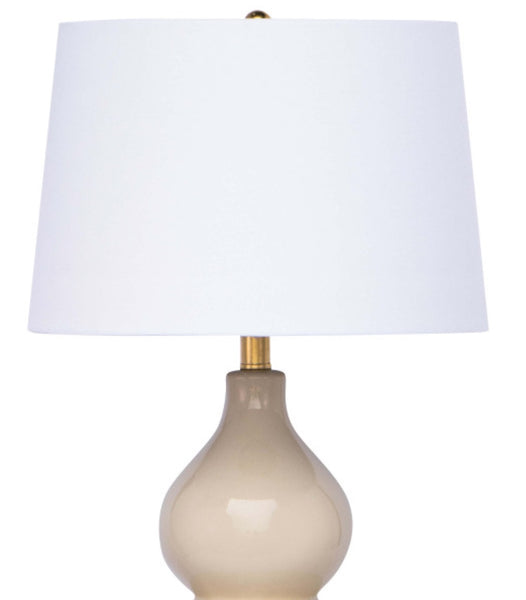 Madison Table Lamp, Ivory