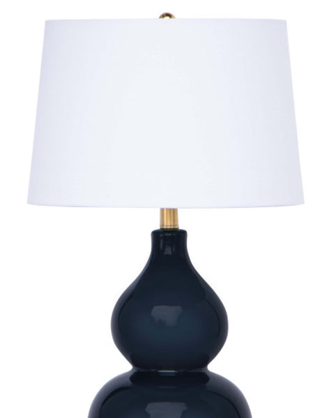 Madison Table Lamp, Navy