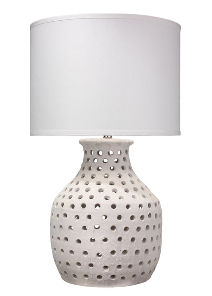 "Porous Table Lamp, 31.5""H"