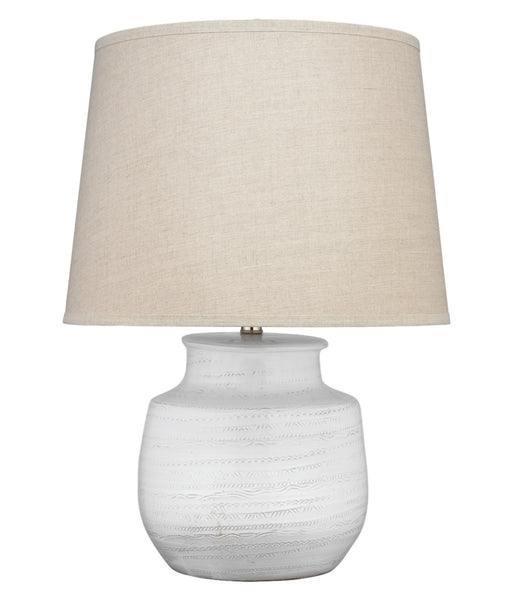 "Trace Table Lamp, Wide 26""H"