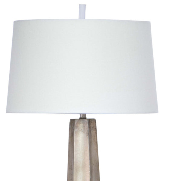 Celine Table Lamp, Silver