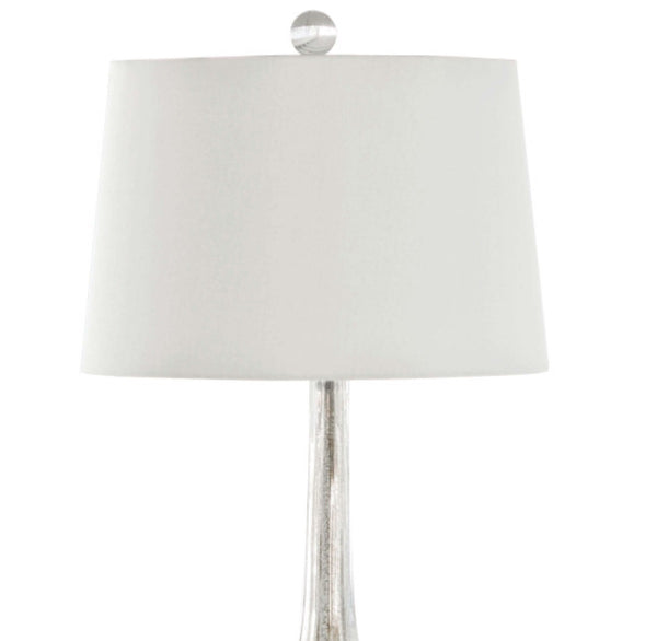Milano Table Lamp, Silver