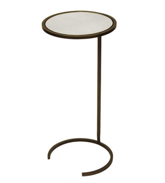 Accent / Drink Table - Monaco, Bronze 12""