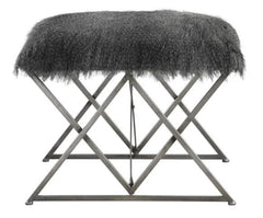 Faux-fur - Astairess Bench / Stool