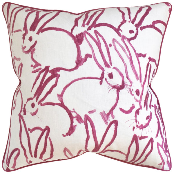 Hutch Pillow, Pink Bunny