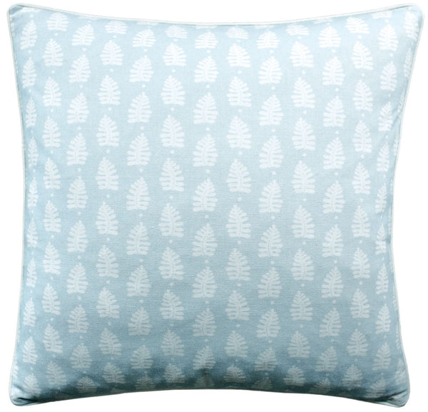 Ferndale Pillow - Spa Blue