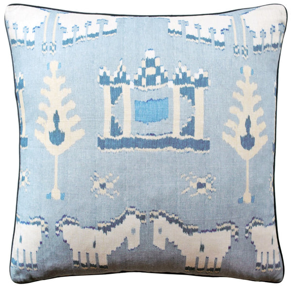 Kingdom Parade Pillow - Spa Blue