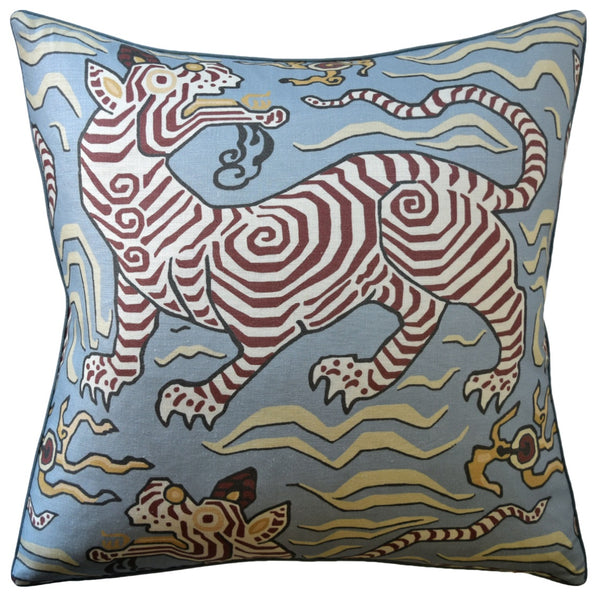 Tibet (Tiger) Pillow, Powder