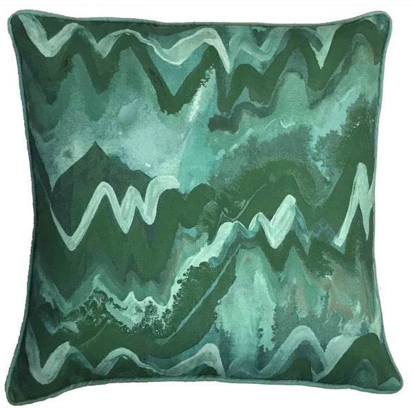 Waverlyn Green Pillow