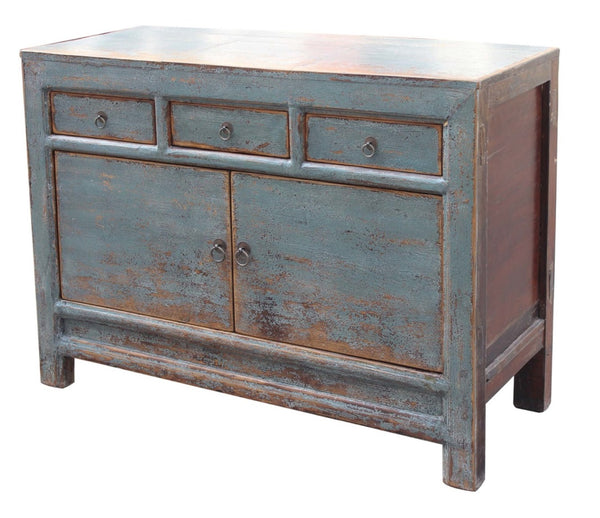 "2-Door - Antique Welkin Blue 47"" Sideboard / Cabinet"