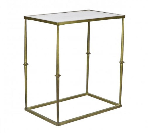 "Glam Side Table - 21"" x 13"""