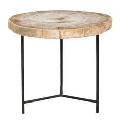 Petrified Wood - Riley Accent Table, LG