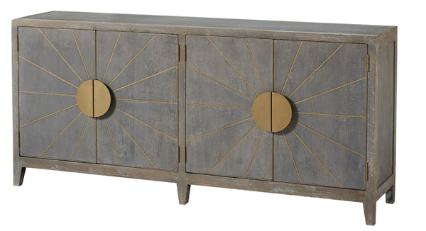 "Rising Sun 4-Door Sideboard, 79""W"