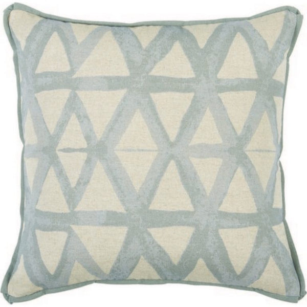 Triangle Pillow, Swedish Blue
