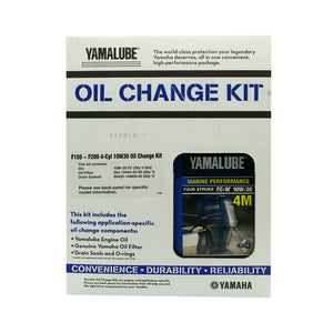 Yamalube Outboard F150 10w30 Oil Kit