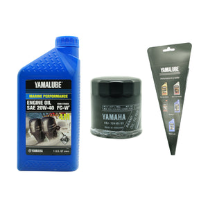 Yamalube Outboard F150 20W40 Oil Kit