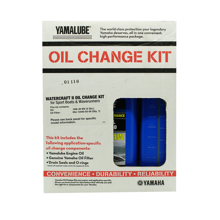 Yamalube Watercraft Oil II Change Kit