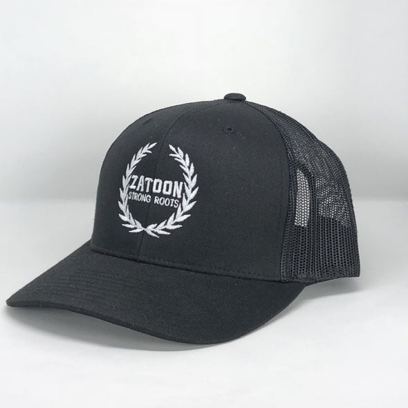 Zatoon Strong Roots (Black) Trucker Hat