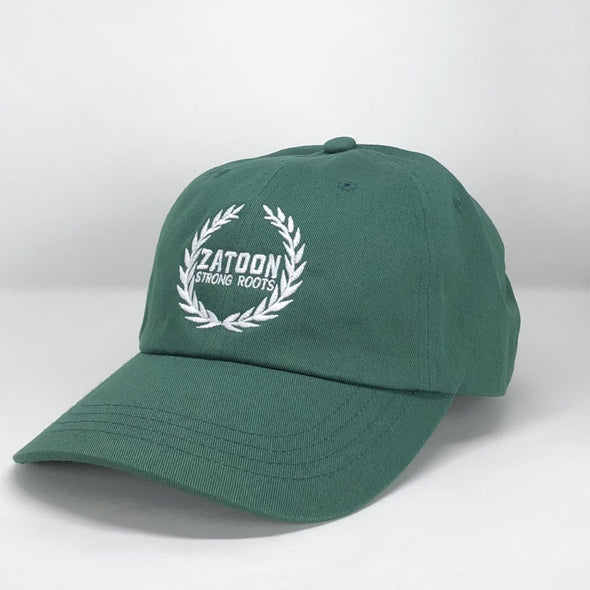 Zatoon Strong Roots (Green) Dad Hat