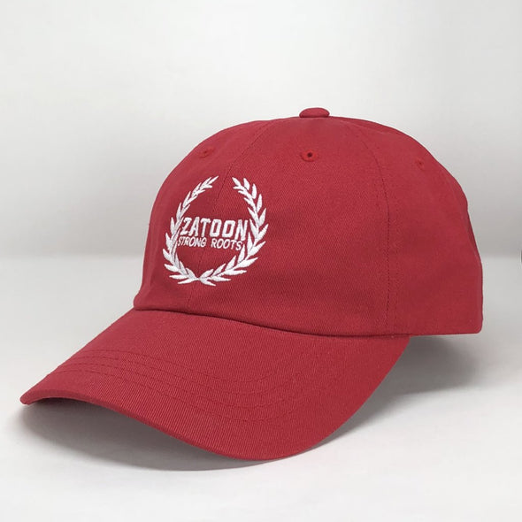 Zatoon Strong Roots (Red) Dad Hat