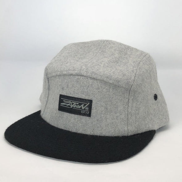 Zatoon 5-Panel (Wool Grey) Hat