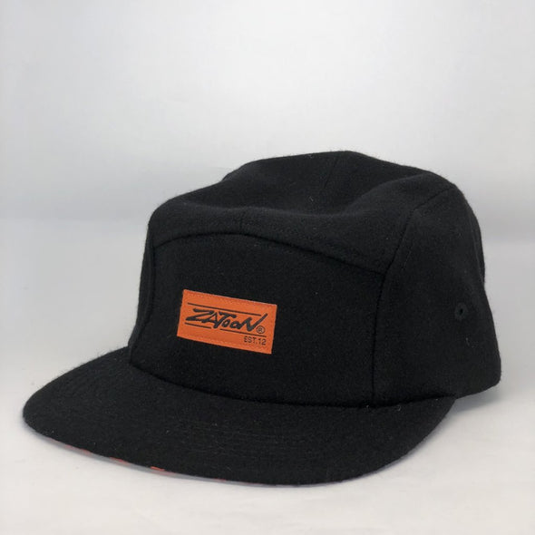 Zatoon 5-Panel (Wool Black) Hat
