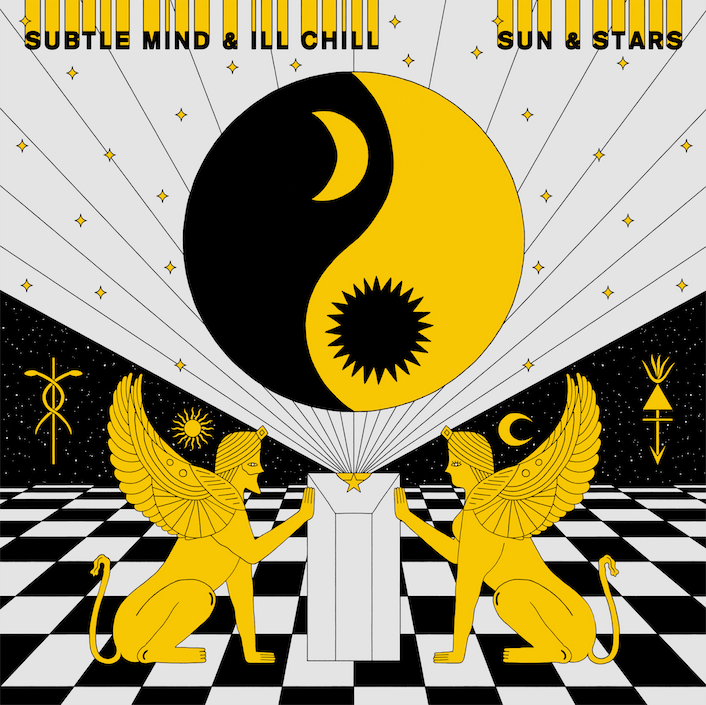 "Limited Edition: (12"" Vinyl) SUBTLE MIND & ILL CHILL - SUN & STARS"