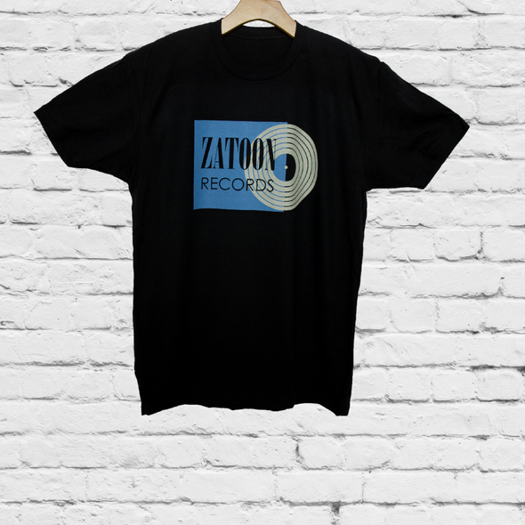 Zatoon Records Vintage Label (Blue)