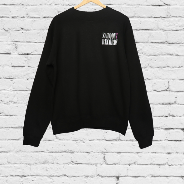 Zatoon Records Crewneck Sweater
