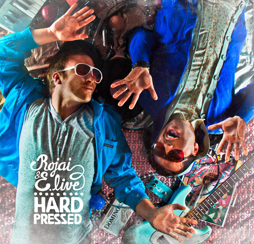 Rojai & E-Live-Hard Pressed LP Vinyl