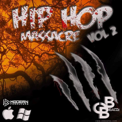 Hip Hop Massacre Vol.2 (WAV & MIDI)