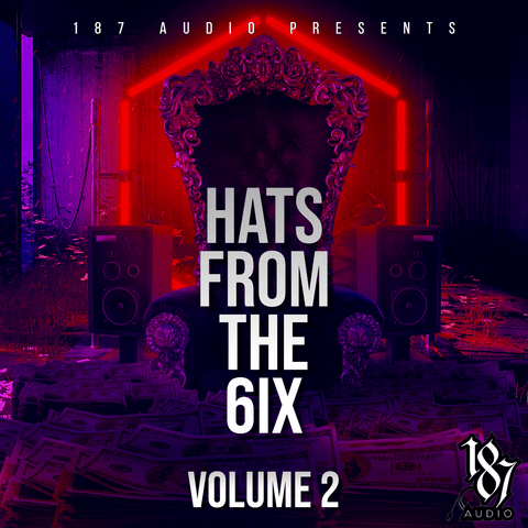 Hats From The 6 Vol.2 - Trap Hat Loops