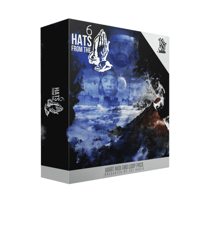Hats From The 6 - Hi Hat WAV & MIDI Loops