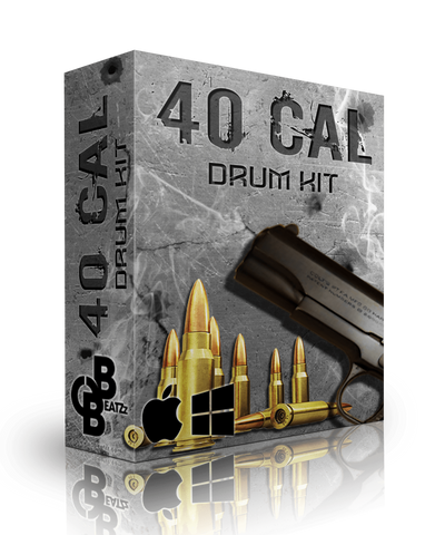 40 Cal Drum Kit