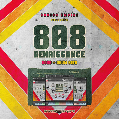808 Renaissance - Kontakt Library & Drum Samples